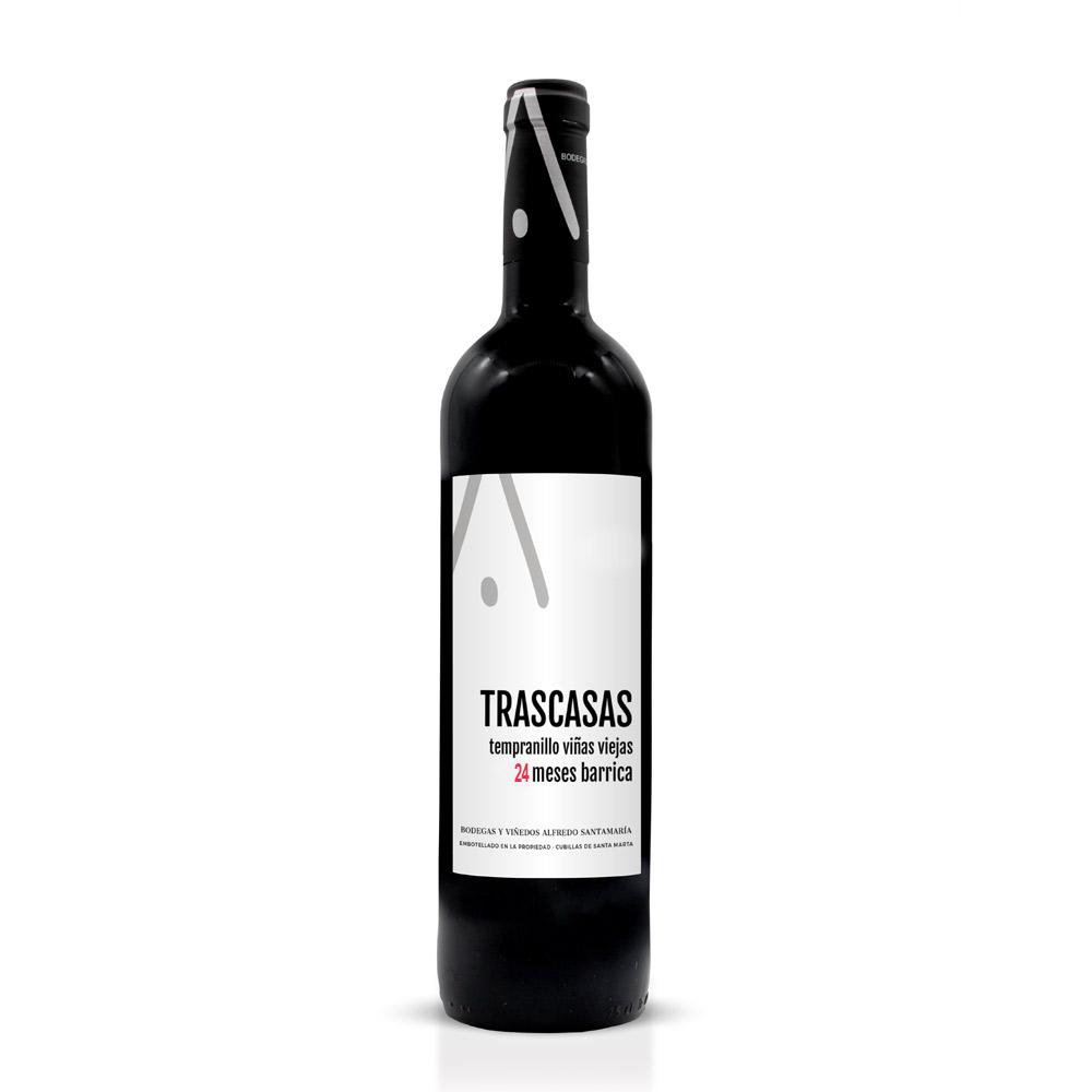 TRASCASAS - Tinto - Viñas viejas 24 meses en Barrica